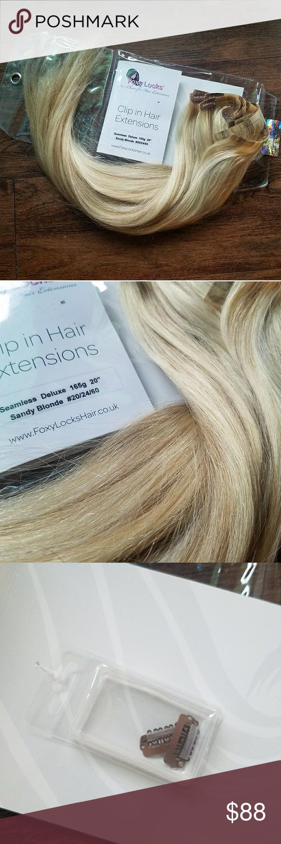 Foxy Locks Clip In Hair Extensions My Posh Closet Pinterest