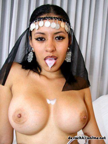 Huge tits arab