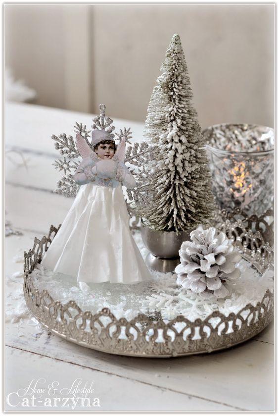 Divine And Beautiful Angel Christmas Decoration Ideas - Christmas Celebration - All about Christmas #christmasdecorations