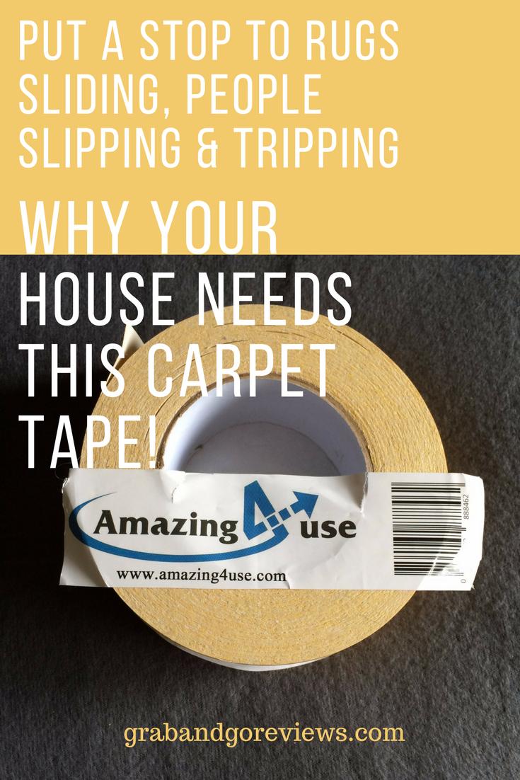 Amazing 4 Use Carpet Tape Lives Up To Its Name Carpet Tape Carpet Rugs