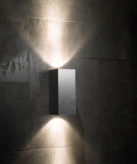 Aplique De Pared Cubo Doble Foco Ideal Para Terrazas Pasillos O Fachadas Iluminacion De Pared Iluminacion Interiores Led Iluminacion Terrazas