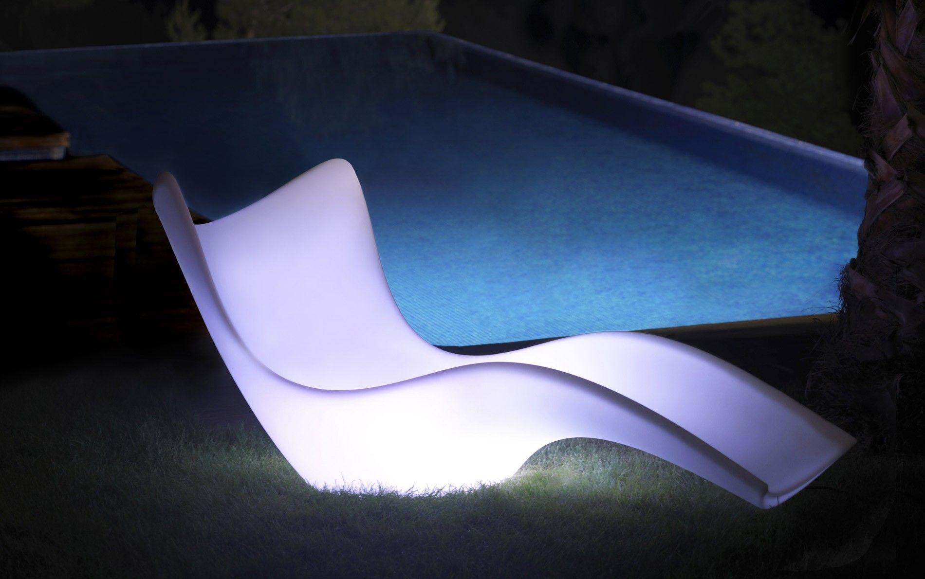 Vondom Surf Tumbona Liege Beleuchtet Balmer Pinterest  # Muebles Rotomoldeados