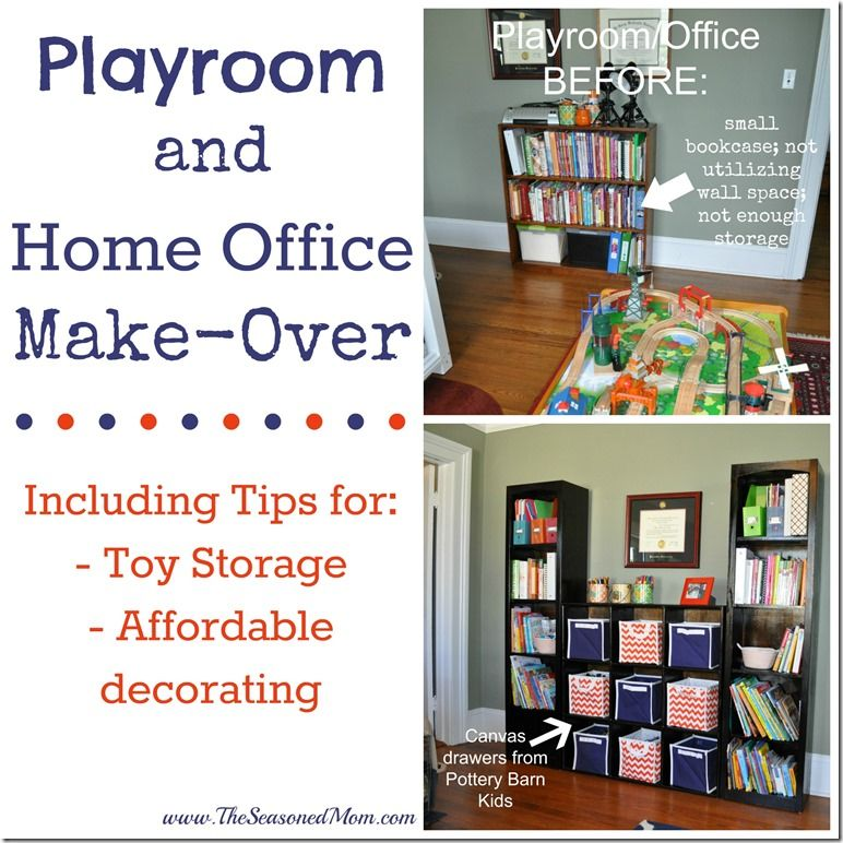 office and playroom. Playroom And Home Office Make-Over T