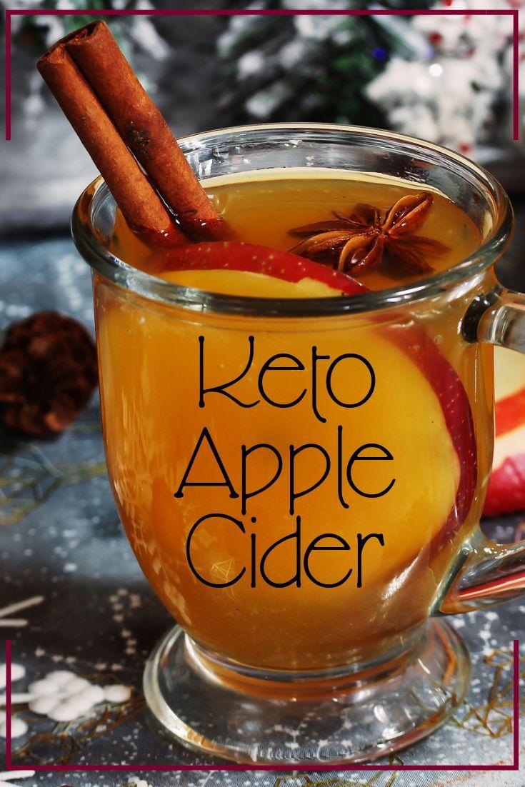 SugarFree, Low Carb Keto Hot Apple Cider (VEGAN) Recipe