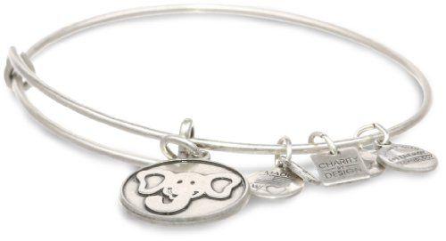 "Alex and Ani ""Charity by Design"" The Elephant Rafaelian Silver Finish Expandable Wire Bangle Bracelet Alex and Ani http://www.amazon.com/dp/B007UMDFH6/ref=cm_sw_r_pi_dp_uvsKtb191J3STD55"