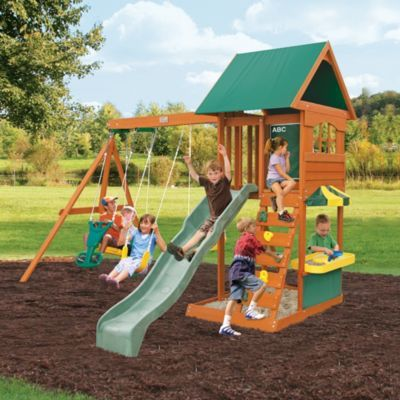 Beau Big Backyard By Solowave® U0027Augusta IIu0027 Outdoor Play Centre   Sears | Sears
