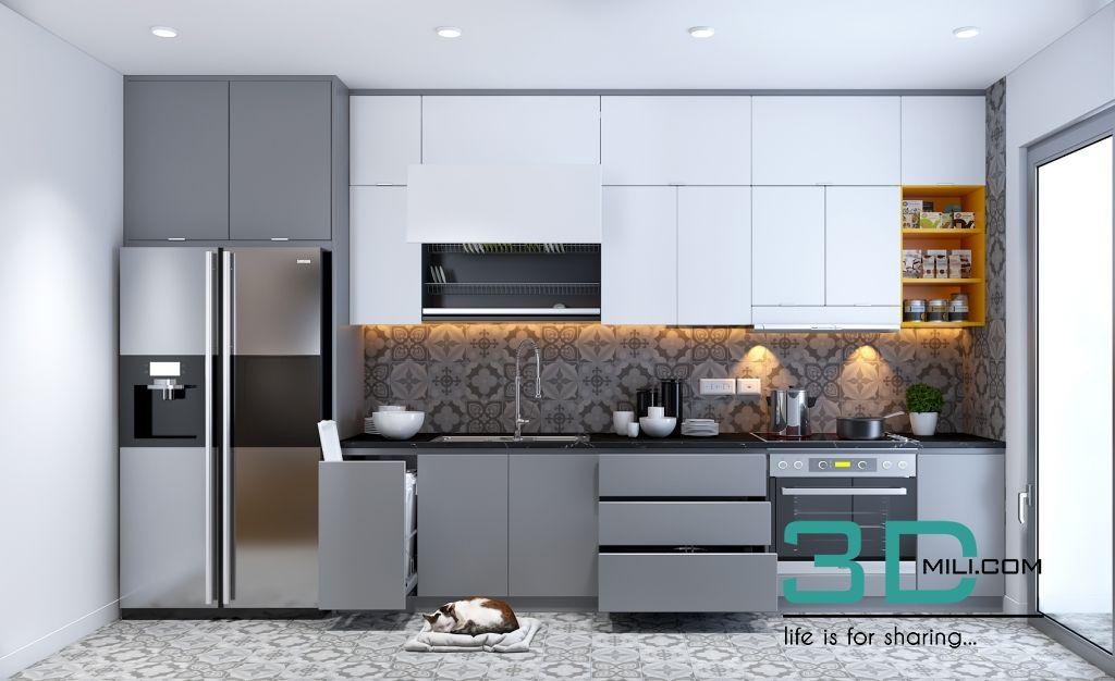 32  Kitchen Room 32 3dsmax File By Min_YoYo - 3D Mili