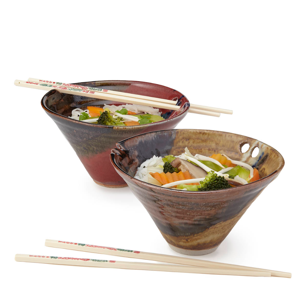 This Bowl With A Built In Chopstick Holder Is A Noodle Lover S Dream Prepare To Be Amazed Unique Kitchen Gift Kitchen Gifts Unique Kitchen