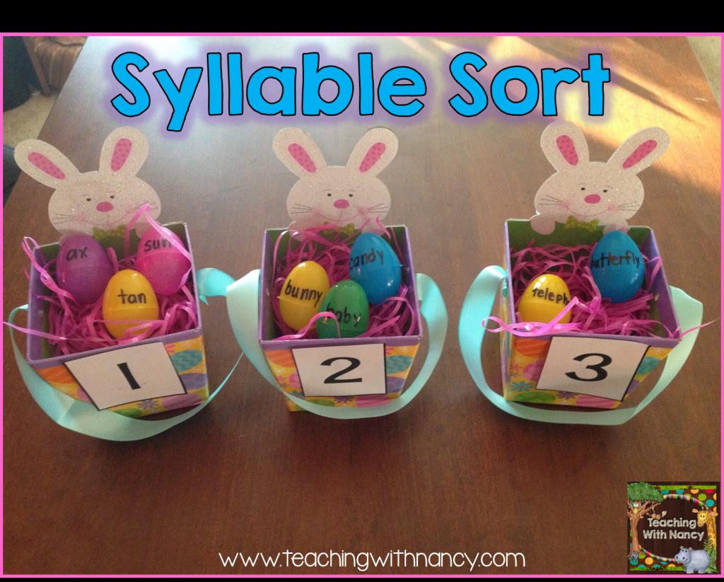 egg syllable sort
