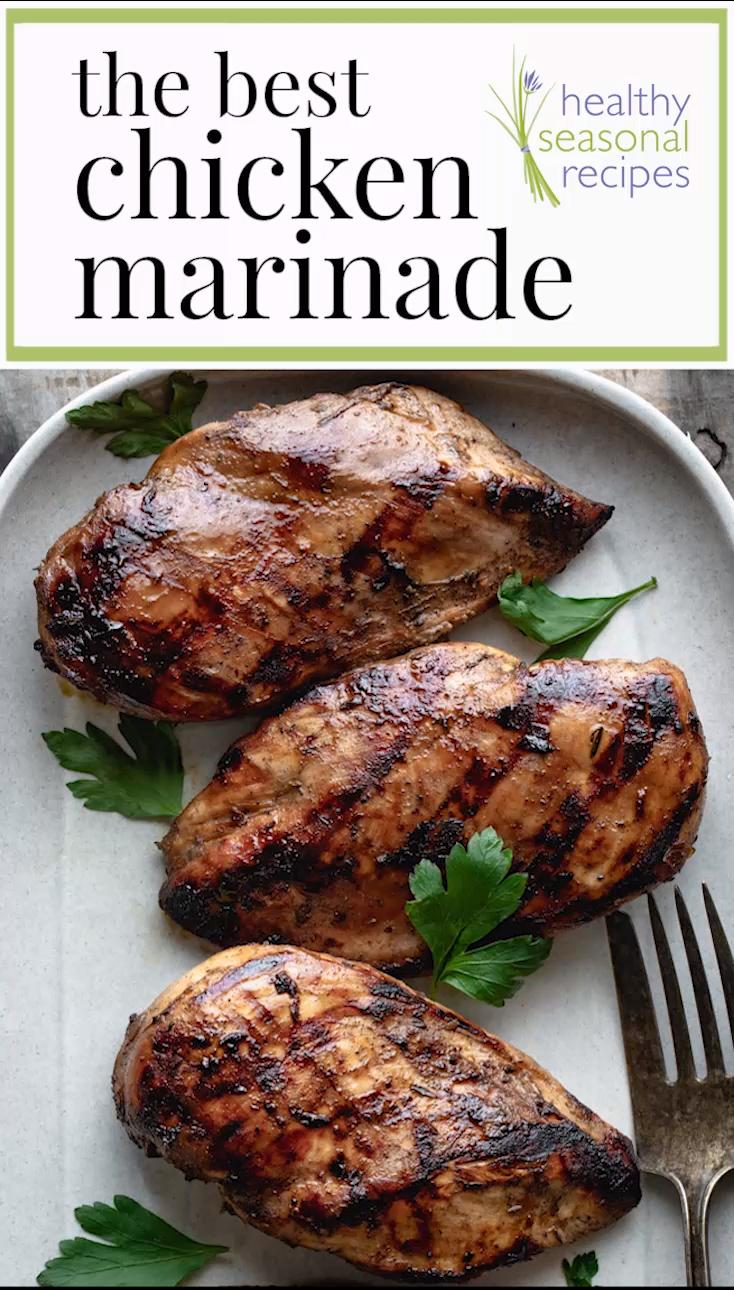Photo of The Best Chicken Marinade