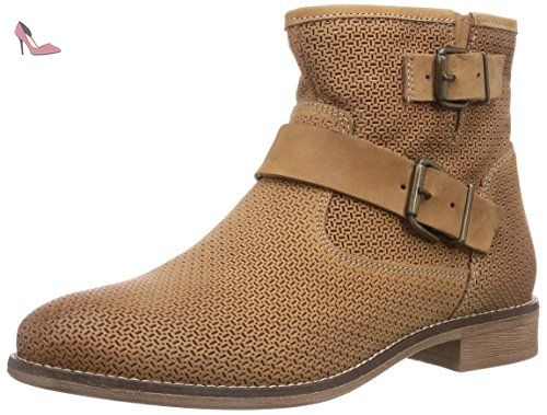 Bottes Marron Eu 39 Femme Motardes Punch Tamaris nut 25334 499 xgqp4O