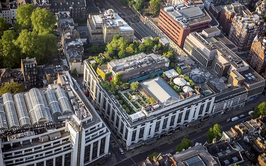 London S Sky Palaces Aerial Views Of The Capital S