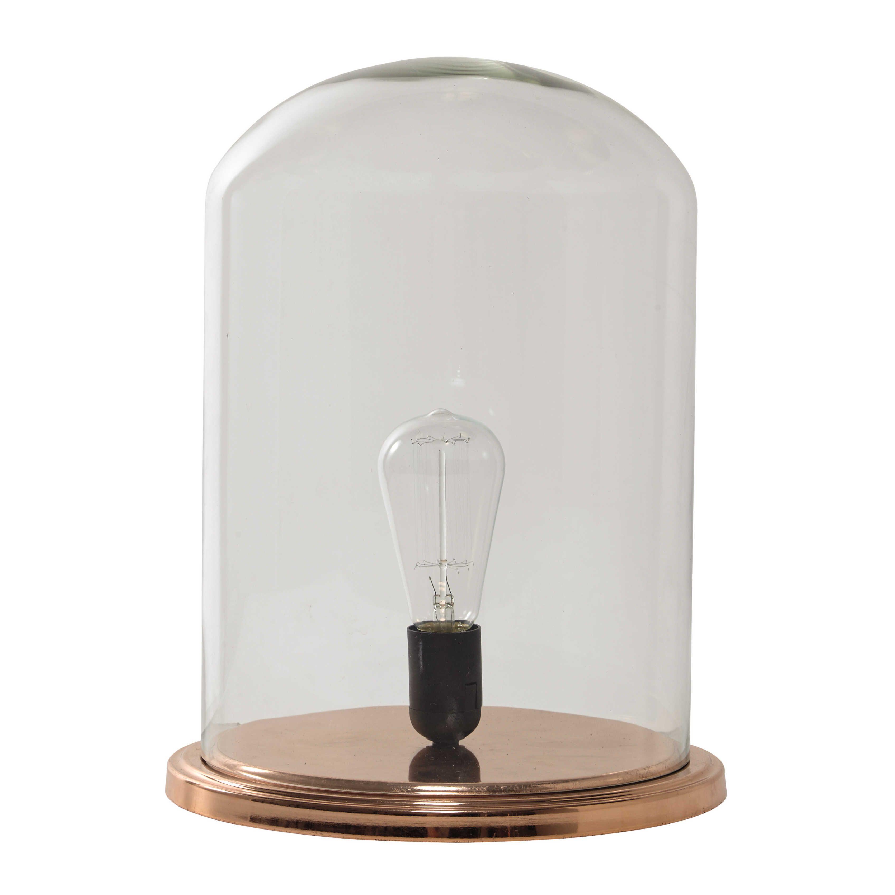 Luminaires Living Living Room Glass Bell Jar Chandelier