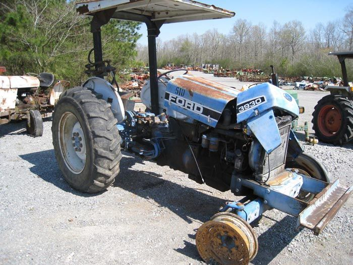 This tractor has been dismantled for Ford 3930 tractor parts Ford