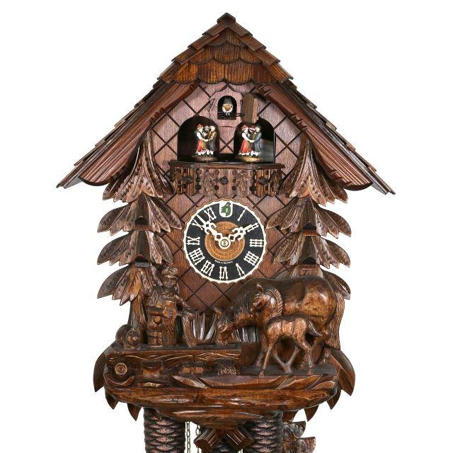 Original Cuckoo Clock Black Forest House Triberg M - Kuckucksuhren ...