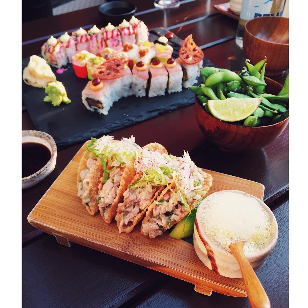 Best sushi in London? It's gotta be Sushi Samba.