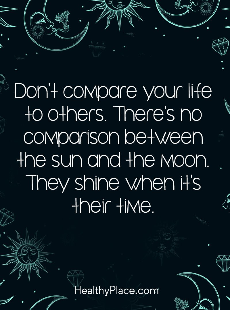 Life Positive Quotes Positive Quote Don't Compare Your Life To Othersthere's No
