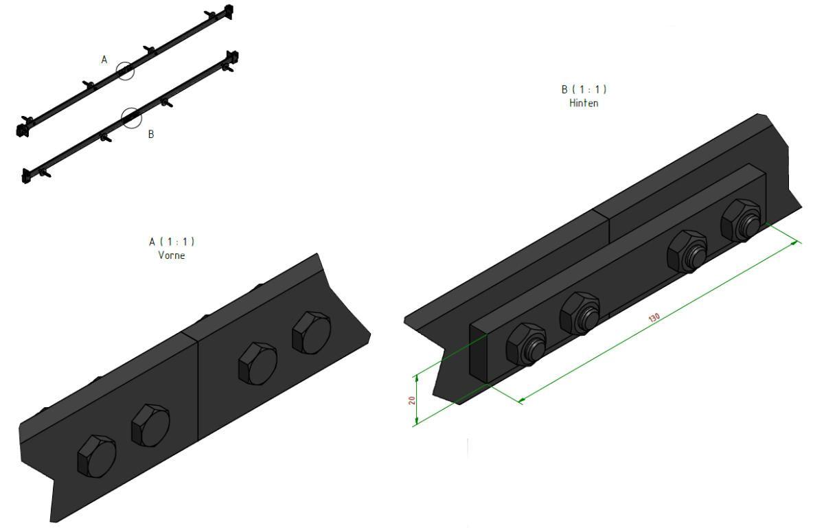 Schiebeturbeschlag Stahl Einzelkomponenten Doors Furniture