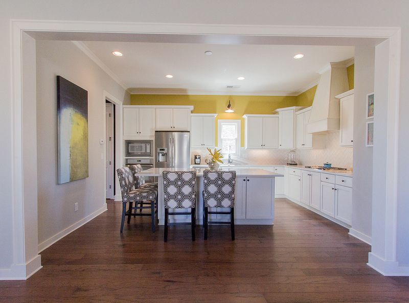 Provence at Liberty Park Accent colors and Kitchens