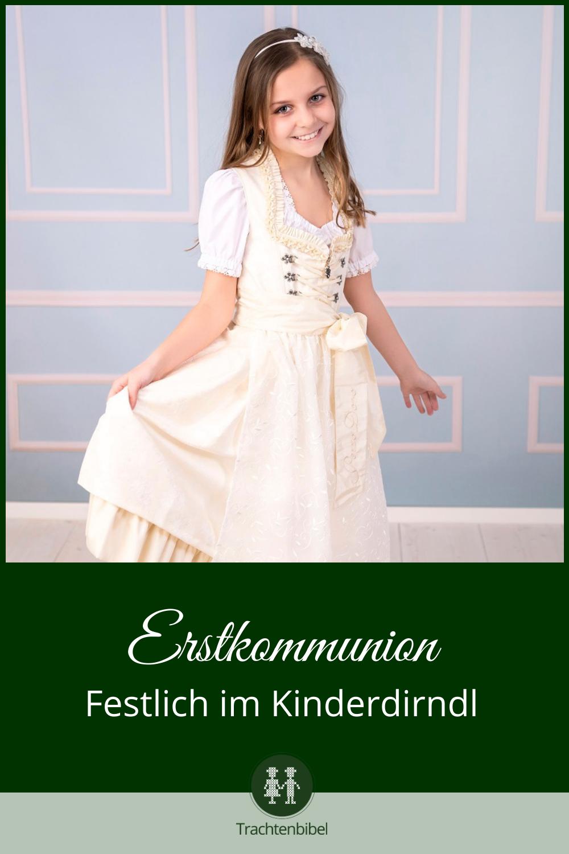Erstkommunion in Tracht   Trachtenbibel   Blumenmädchen kleid ...