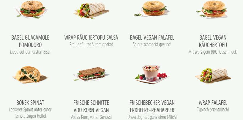 Vegane Küche - vegan kochen ist nicht schwer: vegane Produkte bei BackWerk