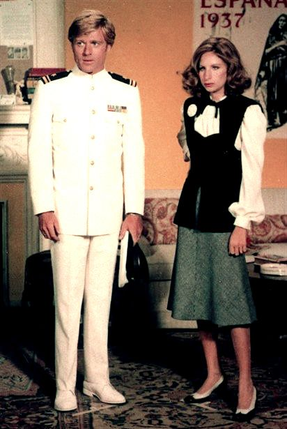 """""""The Way We Were"""" Robert Redford & Barbra Streisand as Hubbell and Katie"""