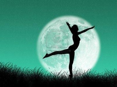 Lune danseuse, l'autre rêveuse