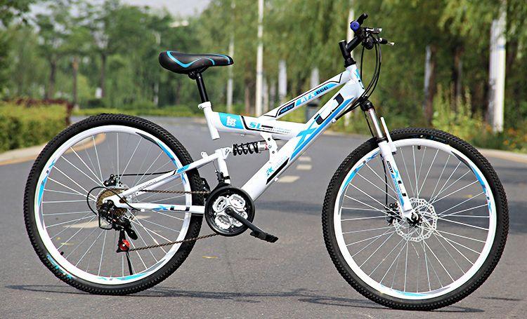 Free Shipping Double Shock Sbsorption Downhil Mountain Bike Bmx