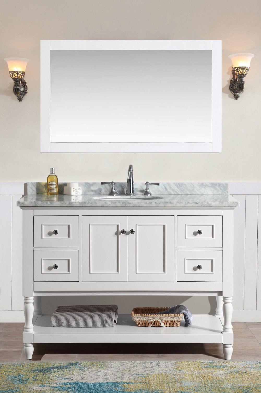 Cape Cod 48 White Vanity Bathroom Cape Cod Bathroom