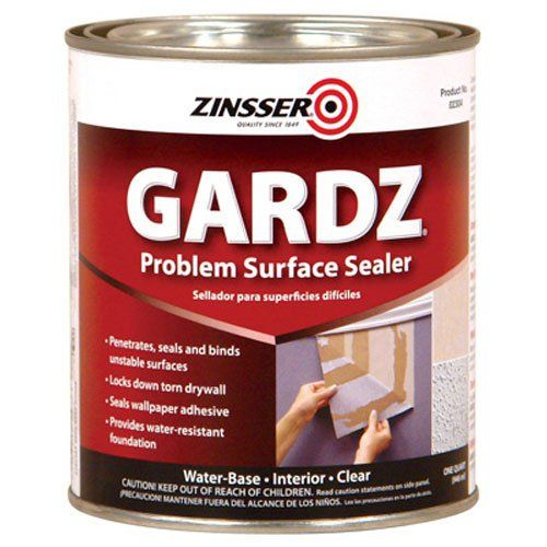 For sealing the plaster. Let the joint compound set for a