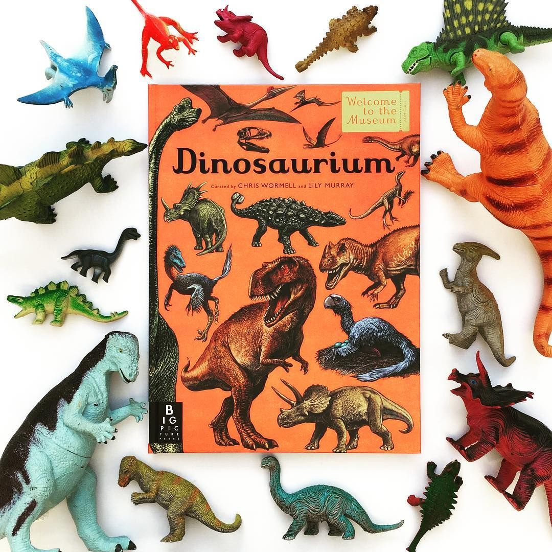Dinosaurium a cool oversized nonfiction book about