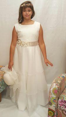 Vestidos primera comunion tallas grandes