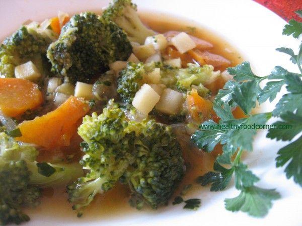 Balanced broccoli soup