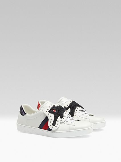 d8d9f7be4 A new version of the Gucci Ace sneaker has just been released, and it comes  with detachable and interchangeable patches. Read up on the Gucci update  here.