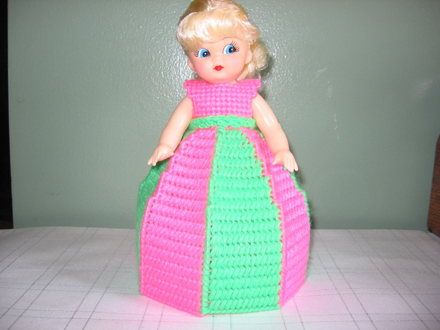 Hot Pink/Lime Green Collectible Doll - use for decoration or Air Freshner!! - My Best Seller!!! by CreationsbyAMJ on Etsy #airfreshnerdolls