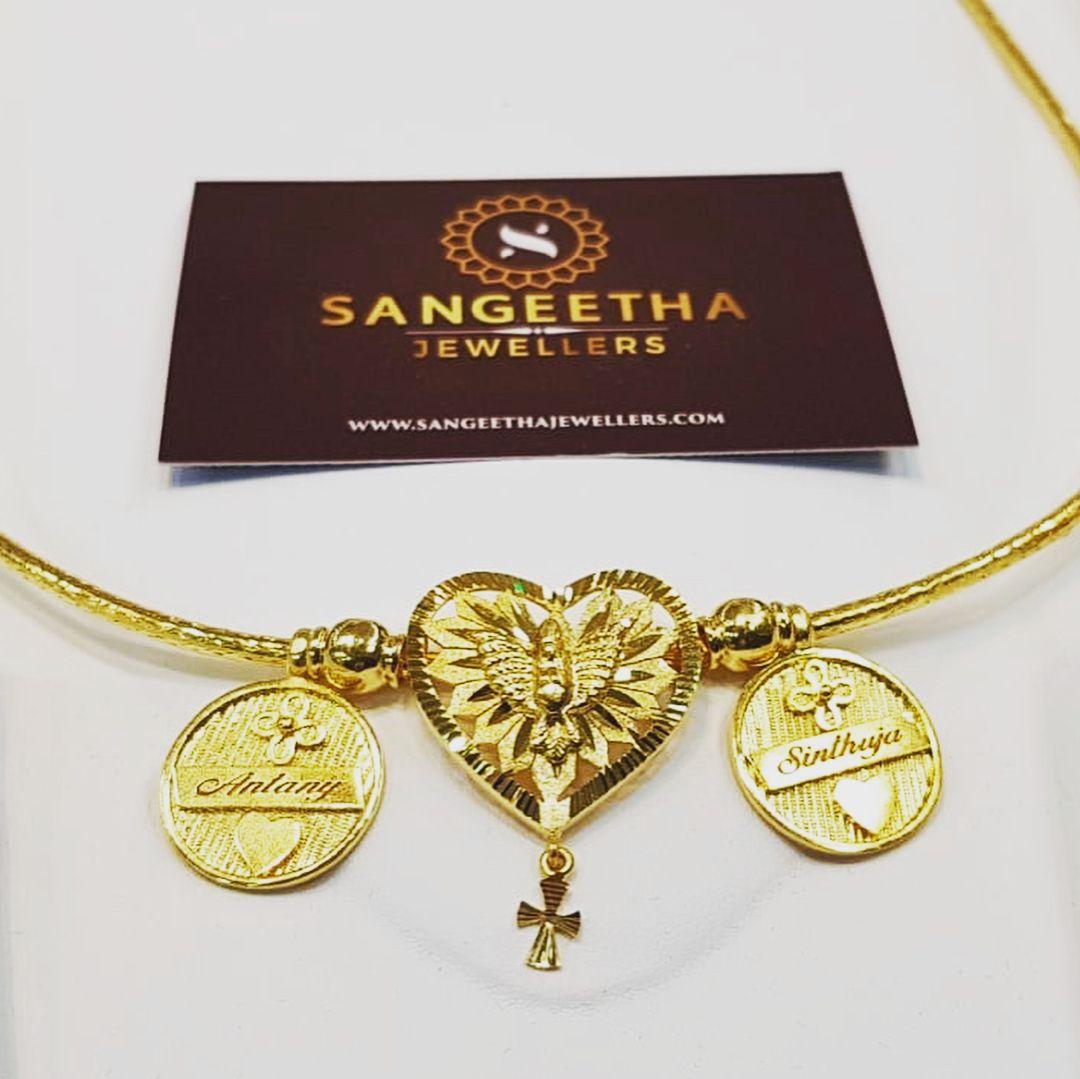 custom made thaali kodi sangeethajewellers instagold gold caratgold tamilweddingjewellery also mangalsutra designs with price rh pinterest