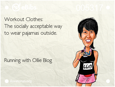 RUNNING WITH OLLIE: Wordless Wednesday: Workout Clothes