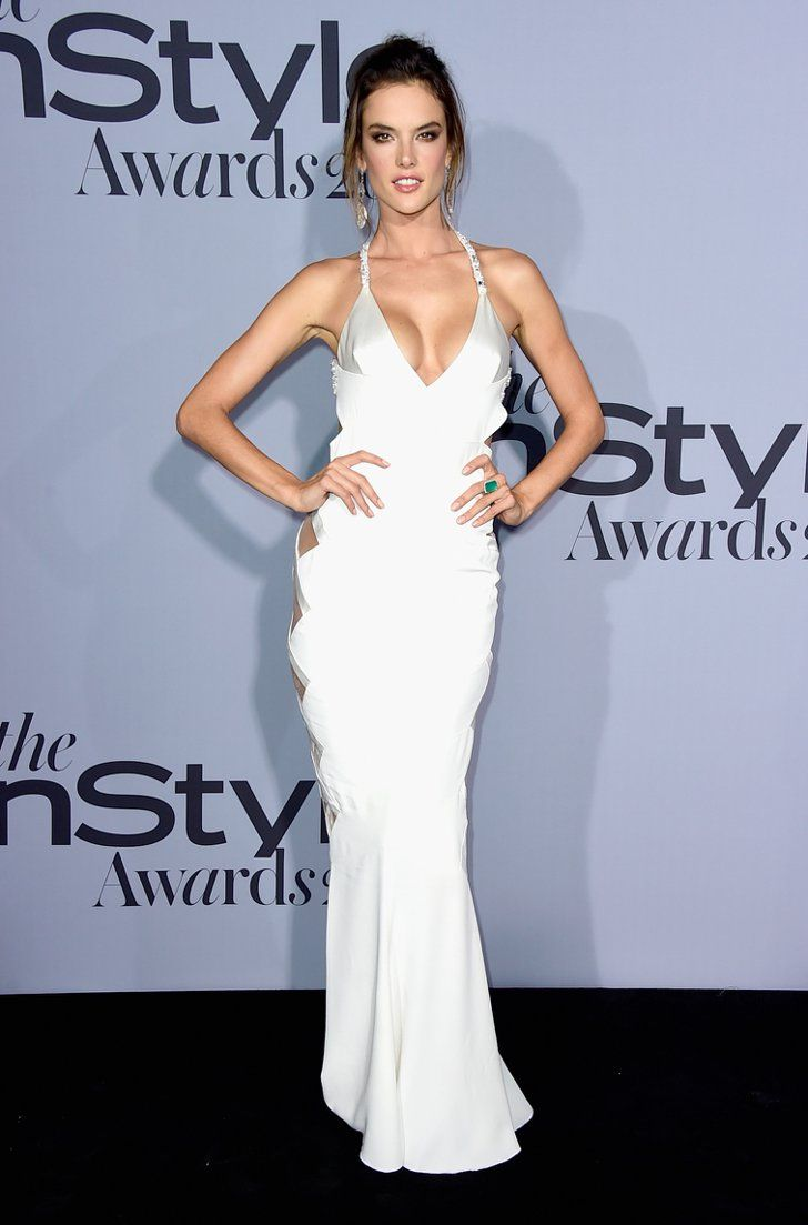 Pin for Later: Alessandra Ambrosio's Dress Left Little to the Imagination on the Red Carpet