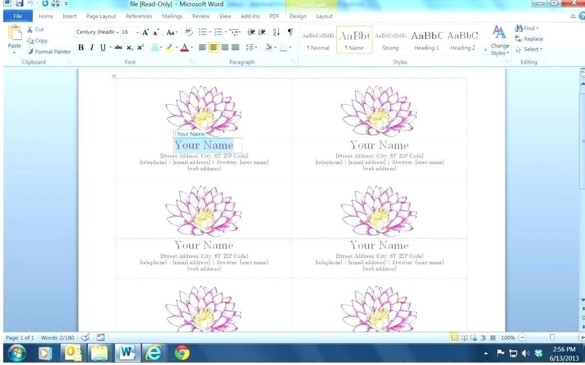 Word Blank Business Card Template Diadeveloper With Word 2013 Business Card Temp Business Card Template Word Free Business Card Templates Business Card Maker