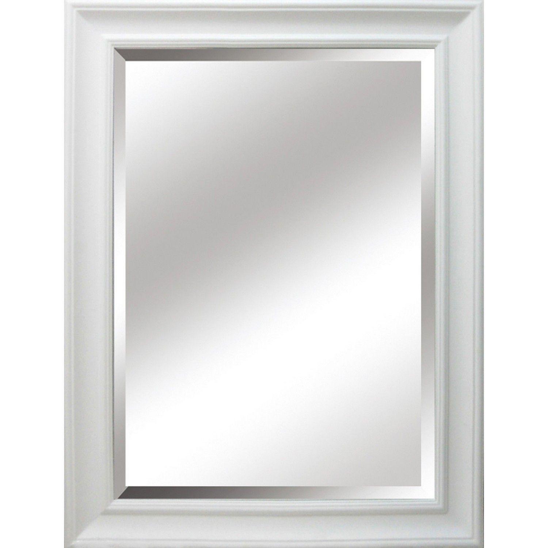 Hampshire Bevelled Mirror White Beveled Mirror Large White Mirror Mirror