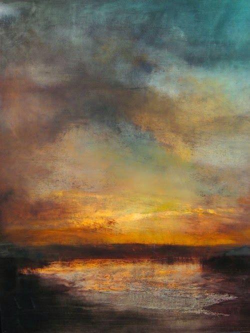 Maurice Sapiro | Peinture ciel, Peinture abstraite, Peintures art abstrait