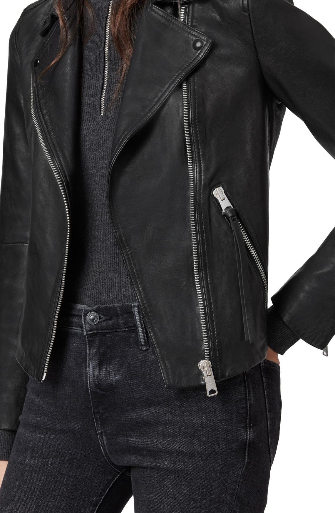 Allsaints Dalby Leather Biker Jacket Nordstrom In 2021 Stylish Leather Jacket Leather Jacket Rock Jackets [ 1746 x 1140 Pixel ]