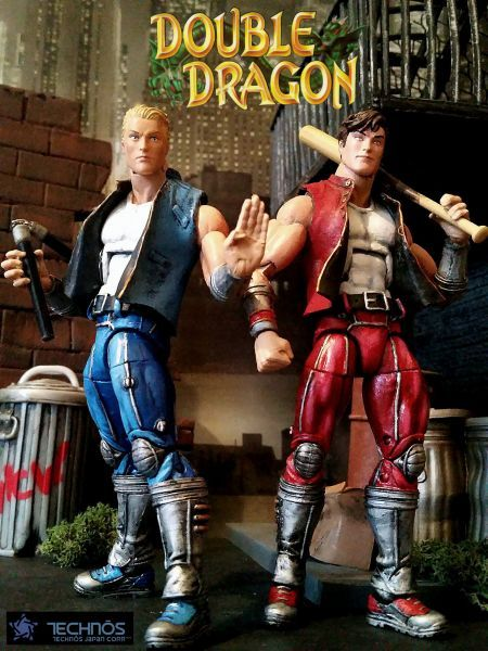 Double Dragon Billy And Jimmy Lee Double Dragon Custom Action