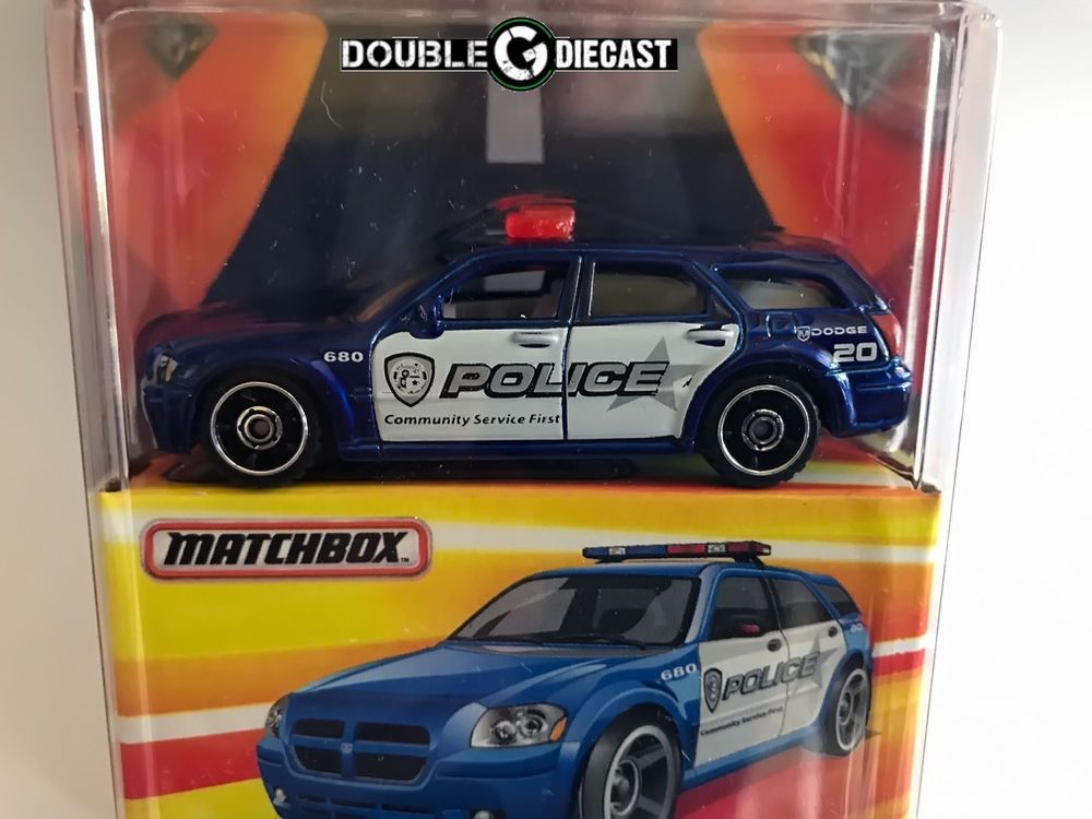 1 64 Matchbox Best Of The World Series Dodge Magnum Police Vehicle