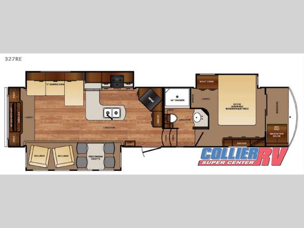New 2016 Forest River RV Wildcat 327RE Fifth Wheel at