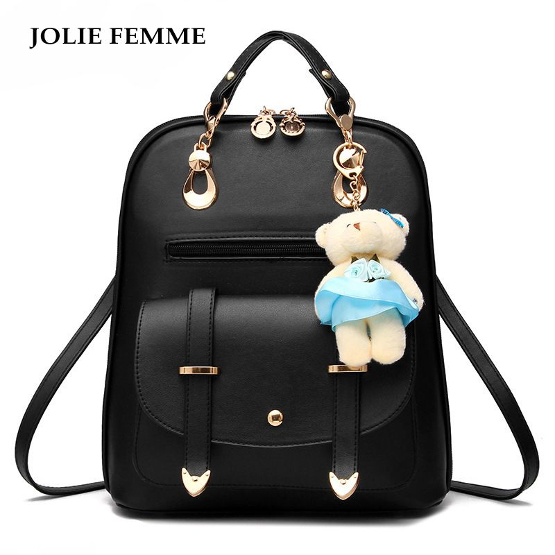 70d36f553e New fashion Japanese Style Kawaii Backpack Female Anime Backpack Girl High  School Student Backpack Leather PU Cartoon Bag Women
