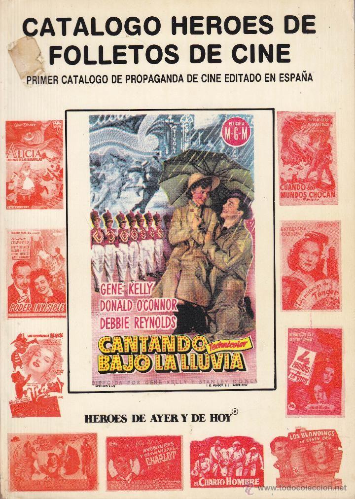 (R) - CATALOGO 'HEROES' DE FOLLETOS DE CINE (3500 REPRODUCCIONES)
