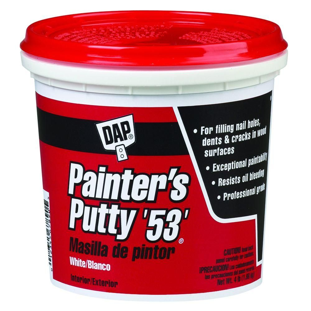 Dap Painter S Putty 53 32 Oz White 6 Pack 7079812244 Diy