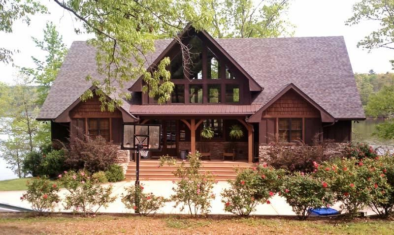 Plan 92352mx Vacation Escape With Views Lake House Plans Craftsman House Plans Mountain House Plans