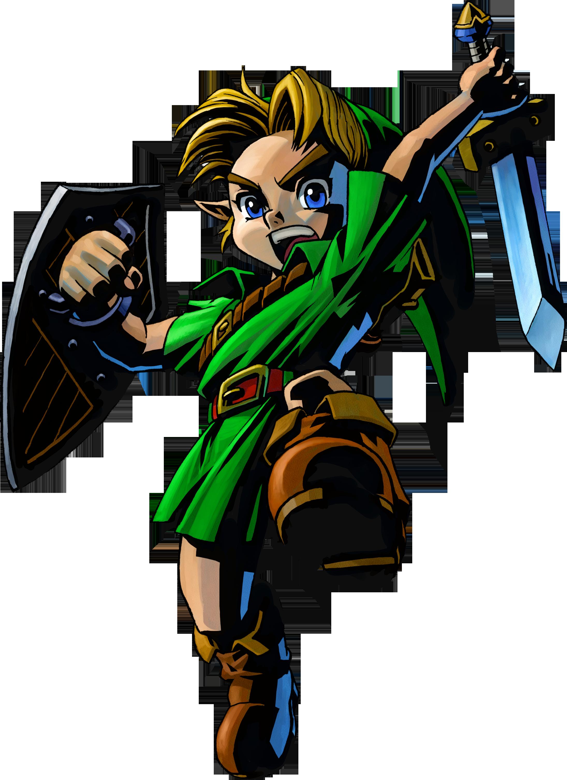 Link In Majoras Mask Official Art Render Png 2191 3013 Legend Of Zelda Majoras Mask Majoras Mask Art